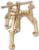 Non_Sparking_ATEX_/_IECEX - Non_sparking_Gear_Pullers - 3_JAW_REVERSIBLE_GEAR_PULLER - ALUMINIUM_BRONZE
