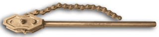 Non_Sparking_ATEX_/_IECEX - Non_sparking_Pipe_Tools - CHAIN_PIPE_WRENCH - ALUMINIUM_BRONZE